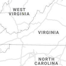 Regional Hail Map for Roanoke, VA - Friday, July 26, 2019