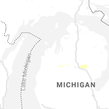 Regional Hail Map for Traverse City, MI - Saturday, July 27, 2019