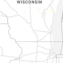 Regional Hail Map for Madison, WI - Sunday, July 28, 2019