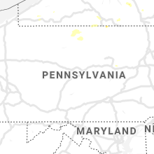 Regional Hail Map for State College, PA - Sunday, July 28, 2019