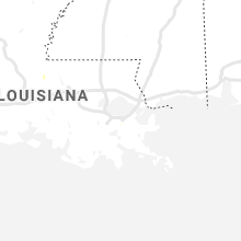 Regional Hail Map for New Orleans, LA - Monday, July 29, 2019