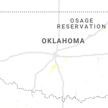 Regional Hail Map for Oklahoma City, OK - Monday, July 29, 2019