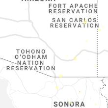 Hail Map for tucson-az 2019-07-29