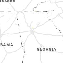 Hail Map for atlanta-ga 2019-07-30