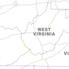 Regional Hail Map for Charleston, WV - Tuesday, July 30, 2019