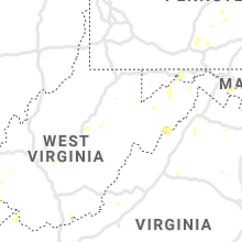 Regional Hail Map for Elkins, WV - Tuesday, July 30, 2019