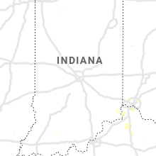 Regional Hail Map for Indianapolis, IN - Tuesday, July 30, 2019