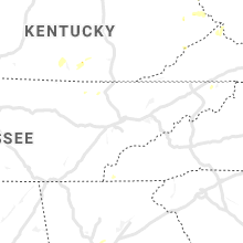 Regional Hail Map for Knoxville, TN - Tuesday, July 30, 2019