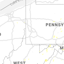 Regional Hail Map for Pittsburgh, PA - Tuesday, July 30, 2019