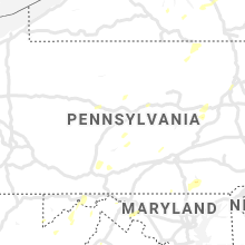 Regional Hail Map for State College, PA - Tuesday, July 30, 2019