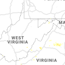 Regional Hail Map for Elkins, WV - Wednesday, July 31, 2019