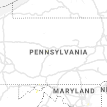 Regional Hail Map for State College, PA - Wednesday, July 31, 2019