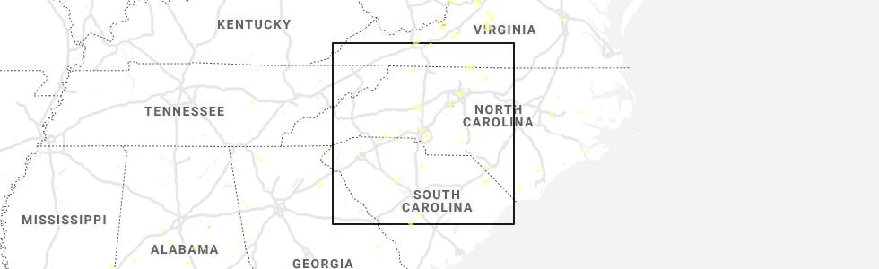 Interactive Hail Maps - Hail Map for Charlotte, NC