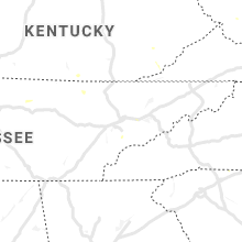 Regional Hail Map for Knoxville, TN - Friday, August 2, 2019