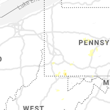 Regional Hail Map for Pittsburgh, PA - Friday, August 2, 2019