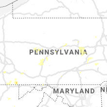 Regional Hail Map for State College, PA - Friday, August 2, 2019