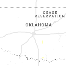 Regional Hail Map for Oklahoma City, OK - Saturday, August 3, 2019