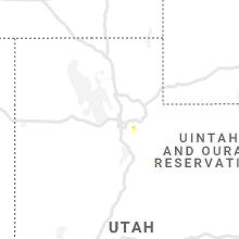 Regional Hail Map for Salt Lake City, UT - Saturday, August 3, 2019