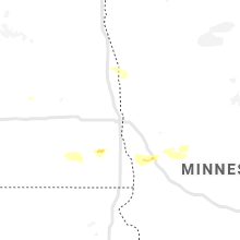 Regional Hail Map for Fargo, ND - Sunday, August 4, 2019