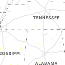 Regional Hail Map for Florence, AL - Sunday, August 4, 2019