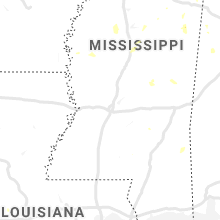 Regional Hail Map for Jackson, MS - Sunday, August 4, 2019