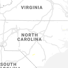 Regional Hail Map for Raleigh, NC - Sunday, August 4, 2019