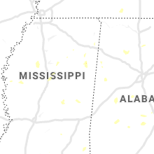 Regional Hail Map for Starkville, MS - Sunday, August 4, 2019