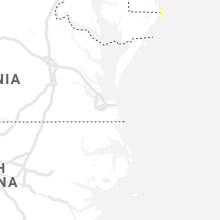 Hail Map for virginia-beach-va 2019-08-04