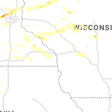 Regional Hail Map for La Crosse, WI - Monday, August 5, 2019