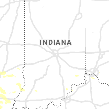 Regional Hail Map for Indianapolis, IN - Tuesday, August 6, 2019