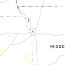 Hail Map for kansas-city-mo 2019-08-06
