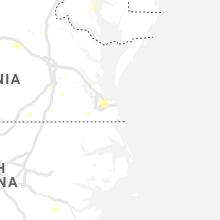 Hail Map for virginia-beach-va 2019-08-07