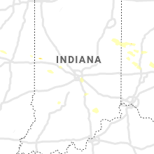 Regional Hail Map for Indianapolis, IN - Thursday, August 8, 2019