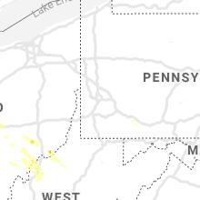 Regional Hail Map for Pittsburgh, PA - Thursday, August 8, 2019