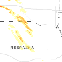 Regional Hail Map for Oneill, NE - Friday, August 9, 2019