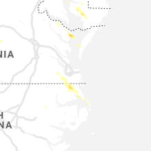 Hail Map for virginia-beach-va 2019-08-09