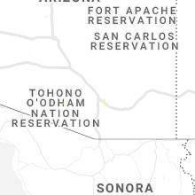 Hail Map for tucson-az 2019-08-10