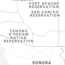 Regional Hail Map for Tucson, AZ - Saturday, August 10, 2019