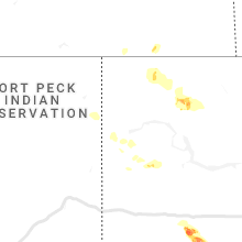 Hail Map for williston-nd 2019-08-10