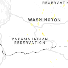 Regional Hail Map for Yakima, WA - Saturday, August 10, 2019