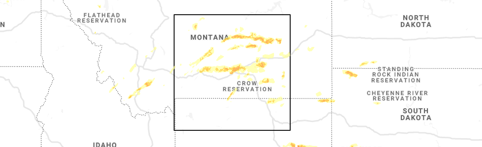 Interactive Hail Maps - Hail Map for Billings, MT