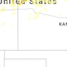 Regional Hail Map for Garden City, KS - Sunday, August 11, 2019