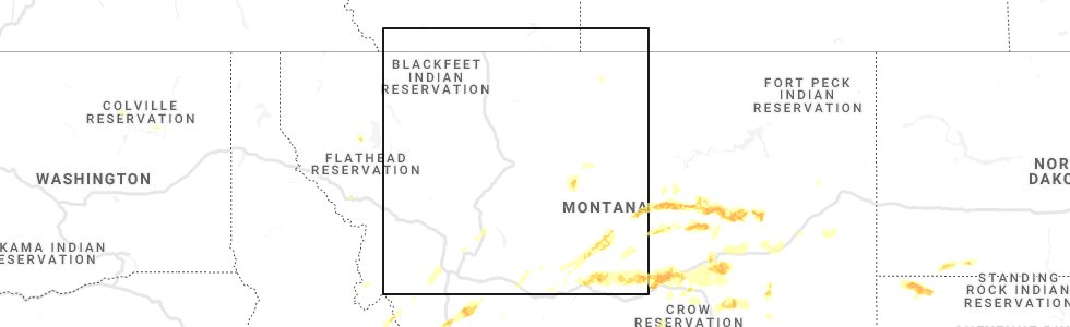 Interactive Hail Maps - Hail Map for East Helena, MT