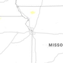 Hail Map for kansas-city-mo 2019-08-11