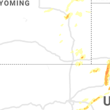 Regional Hail Map for Laramie, WY - Sunday, August 11, 2019