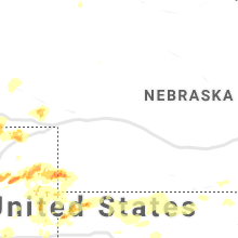 Regional Hail Map for North Platte, NE - Sunday, August 11, 2019