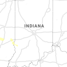 Regional Hail Map for Indianapolis, IN - Monday, August 12, 2019
