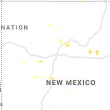 Regional Hail Map for Albuquerque, NM - Wednesday, August 14, 2019