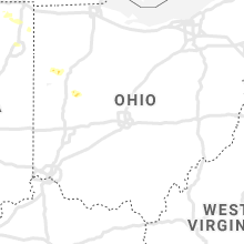Regional Hail Map for Columbus, OH - Wednesday, August 14, 2019