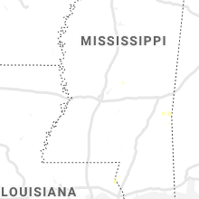 Regional Hail Map for Jackson, MS - Wednesday, August 14, 2019